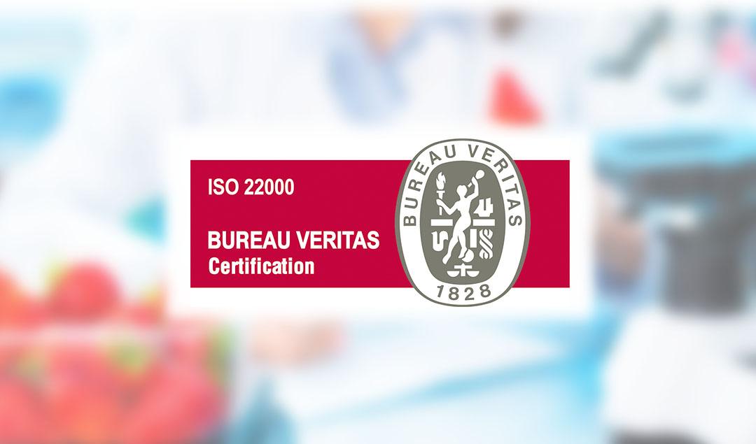 DESTILERÍAS MUÑOZ GÁLVEZ, S.A. renews its Food Safety Certification in accordance with the UNE EN ISO 22000:2018 standard